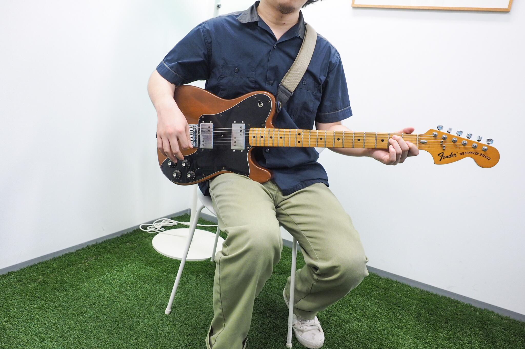 Fender USA製、Telecaster Deluxe('74)