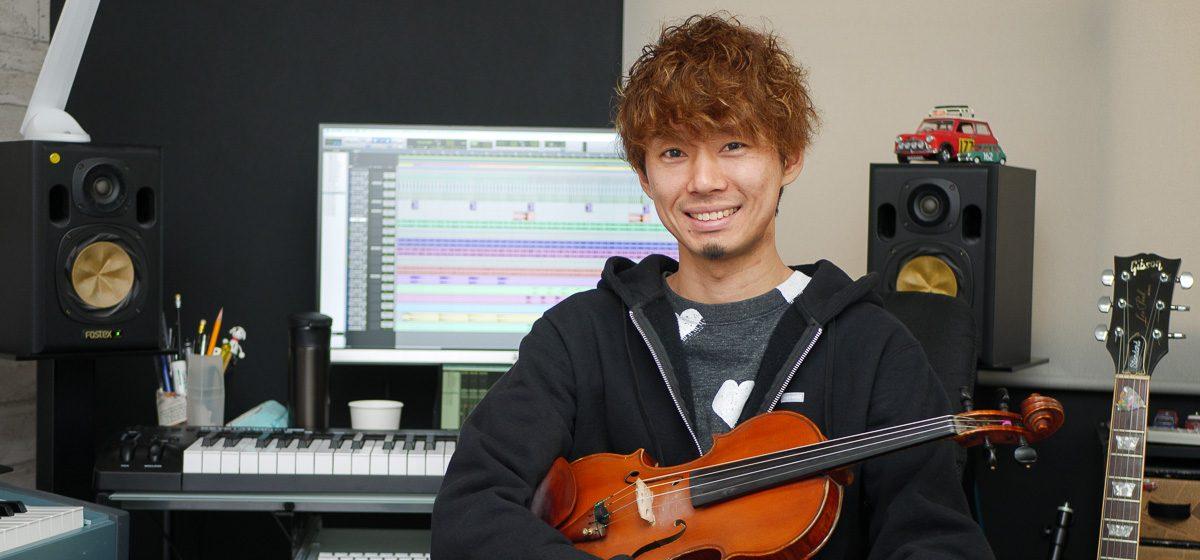 門脇大輔 インタビュー バイオリン